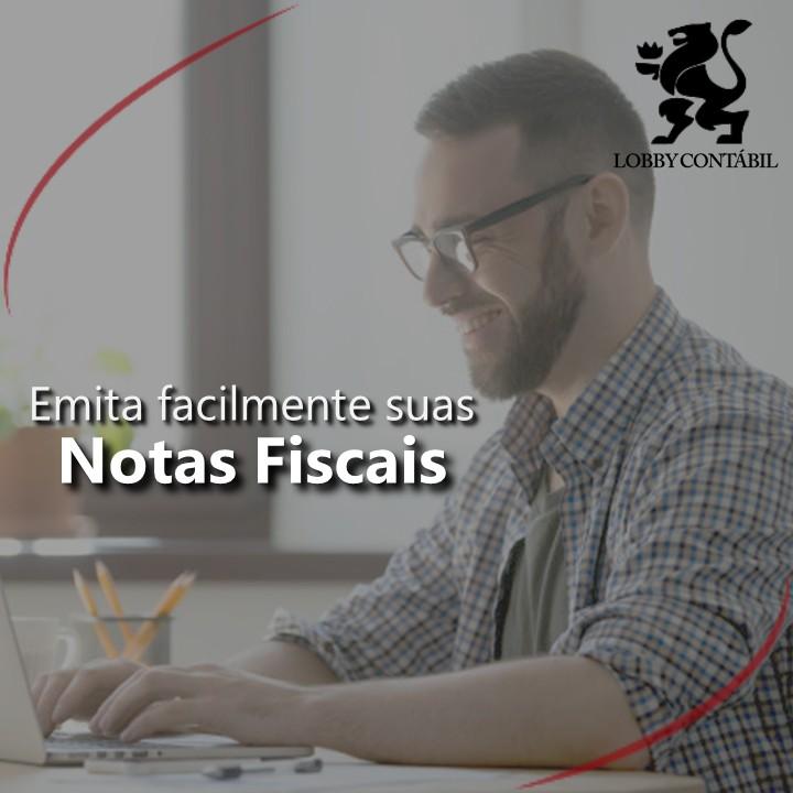 Contabilidade emissão de nota fiscal